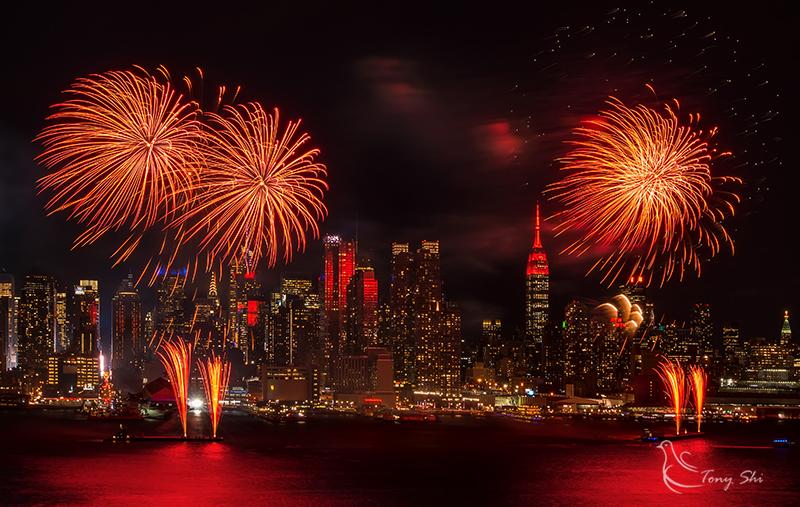 纽约庆祝中国新年烟花汇演_图2-8