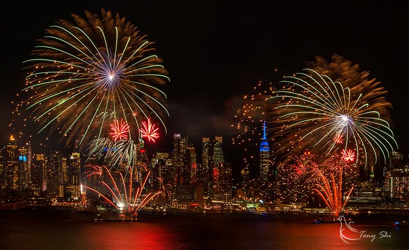纽约庆祝中国新年烟花汇演_图2-7