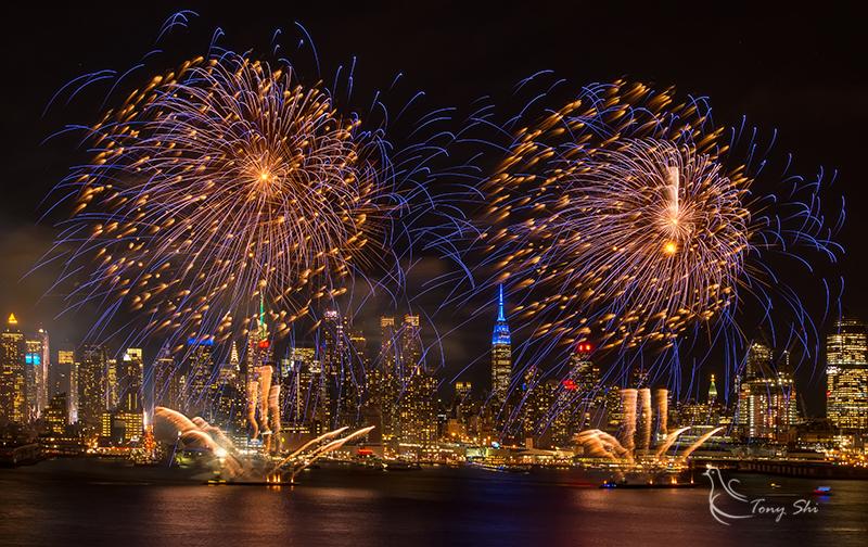 纽约庆祝中国新年烟花汇演_图1-9