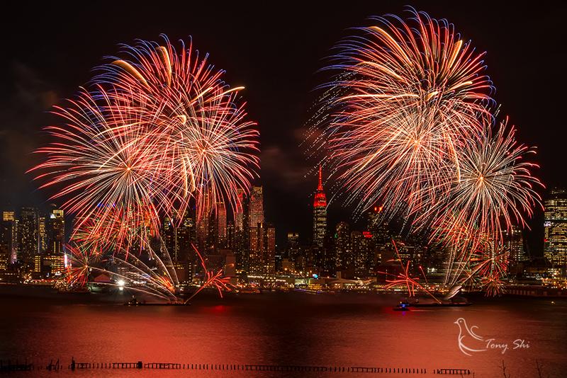 纽约庆祝中国新年烟花汇演_图1-10