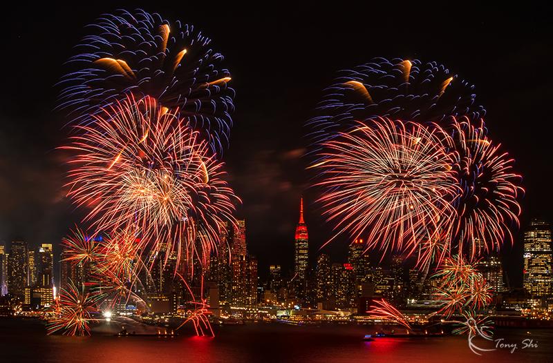 纽约庆祝中国新年烟花汇演_图1-11