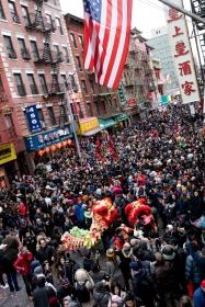 美國春節好熱鬧    ----紐約曼哈頓唐人街大