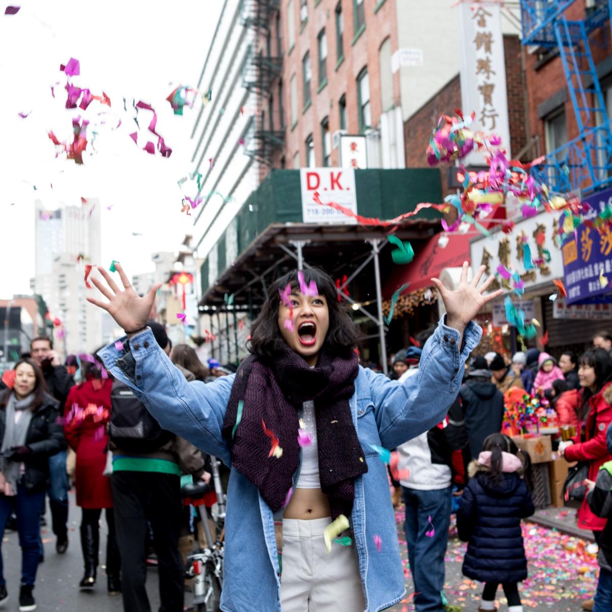 美國春節好熱鬧    ----紐約曼哈頓唐人街大年初一 20170128_图1-3
