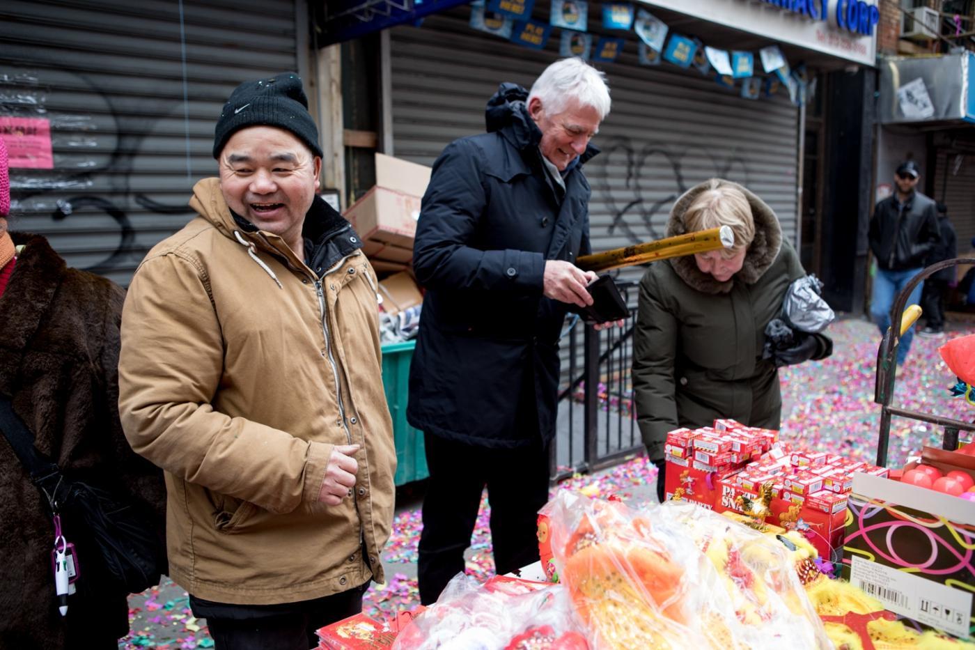 美國春節好熱鬧    ----紐約曼哈頓唐人街大年初一 20170128_图1-4