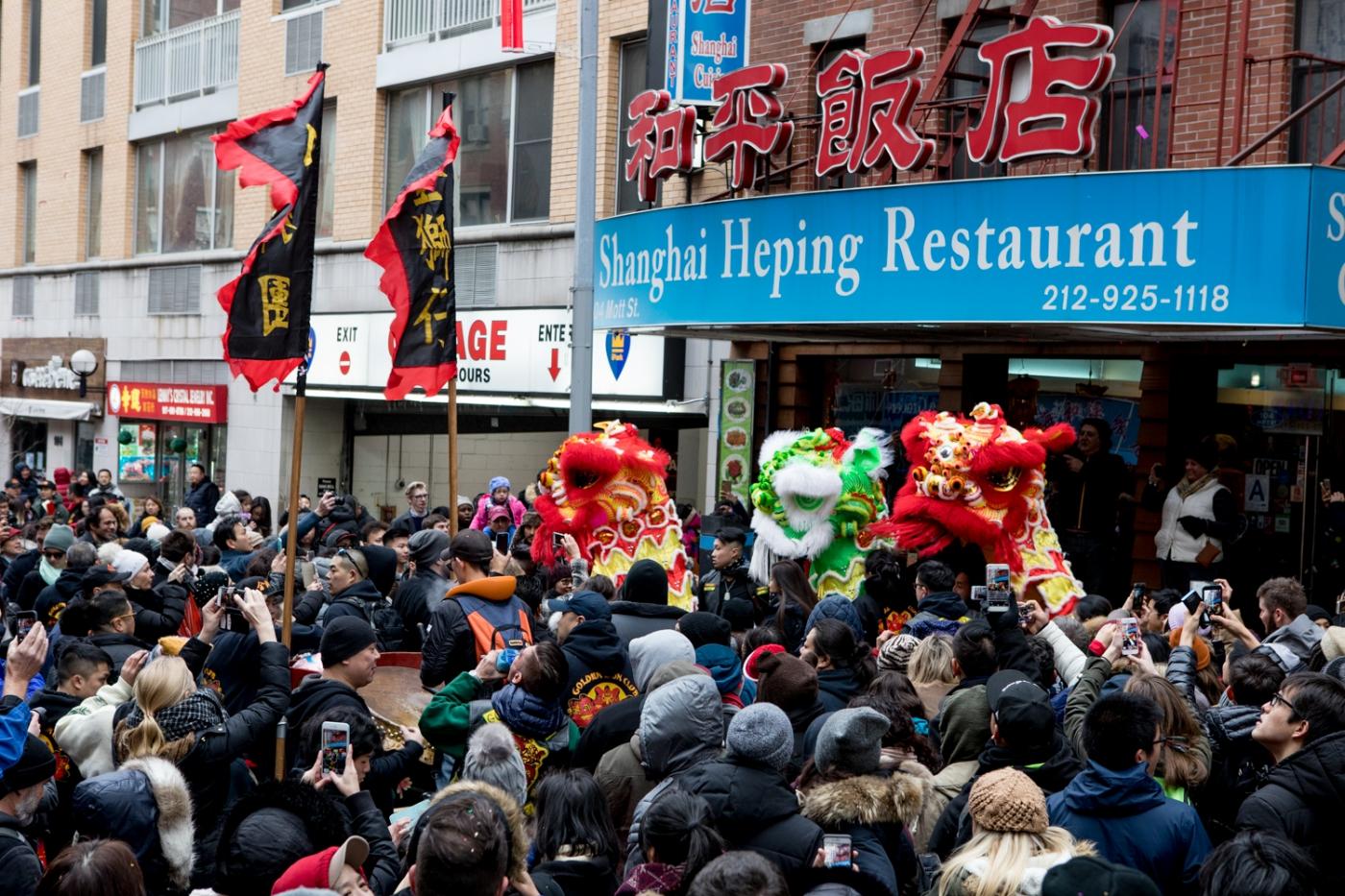 美國春節好熱鬧    ----紐約曼哈頓唐人街大年初一 20170128_图1-6