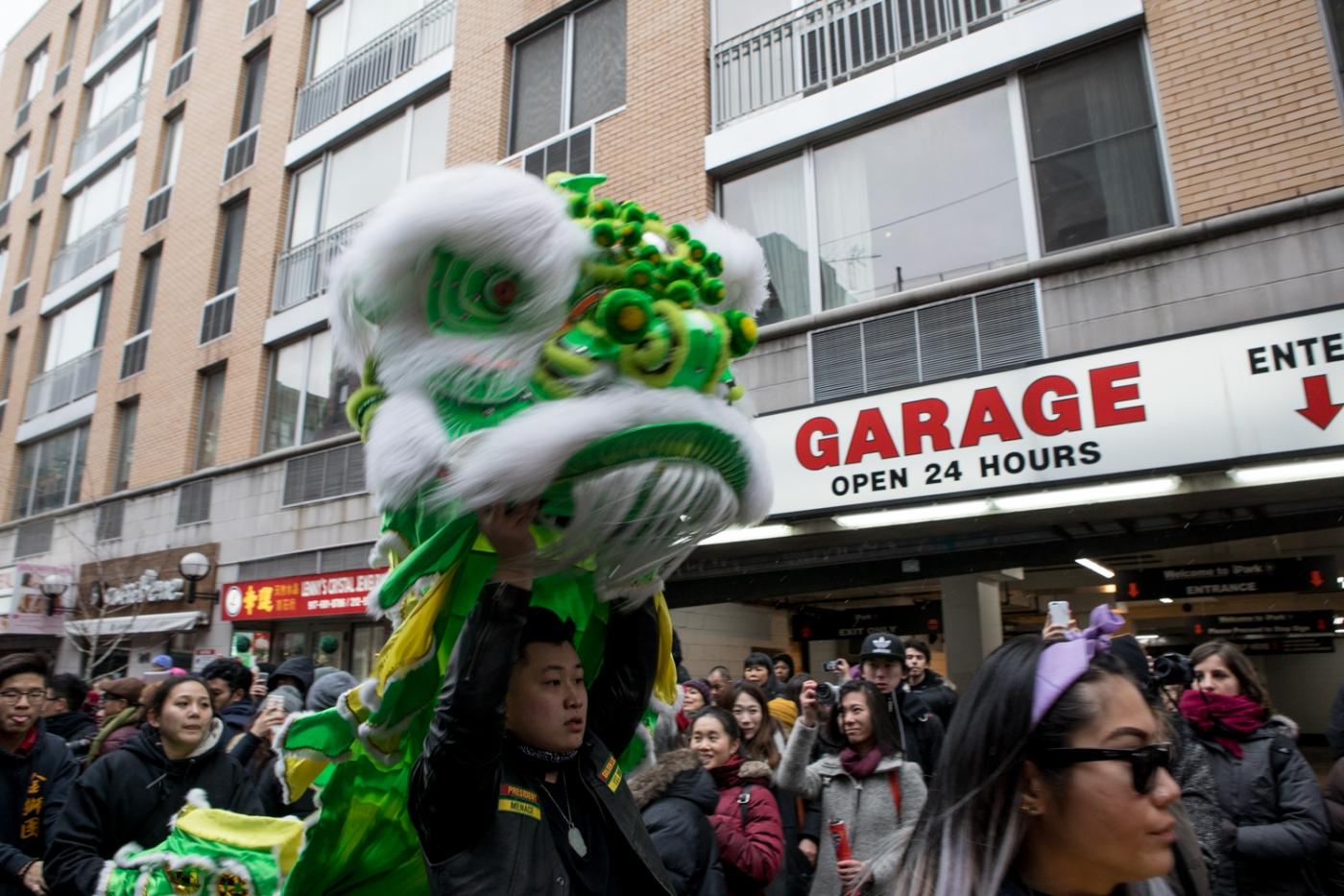 美國春節好熱鬧    ----紐約曼哈頓唐人街大年初一 20170128_图1-7
