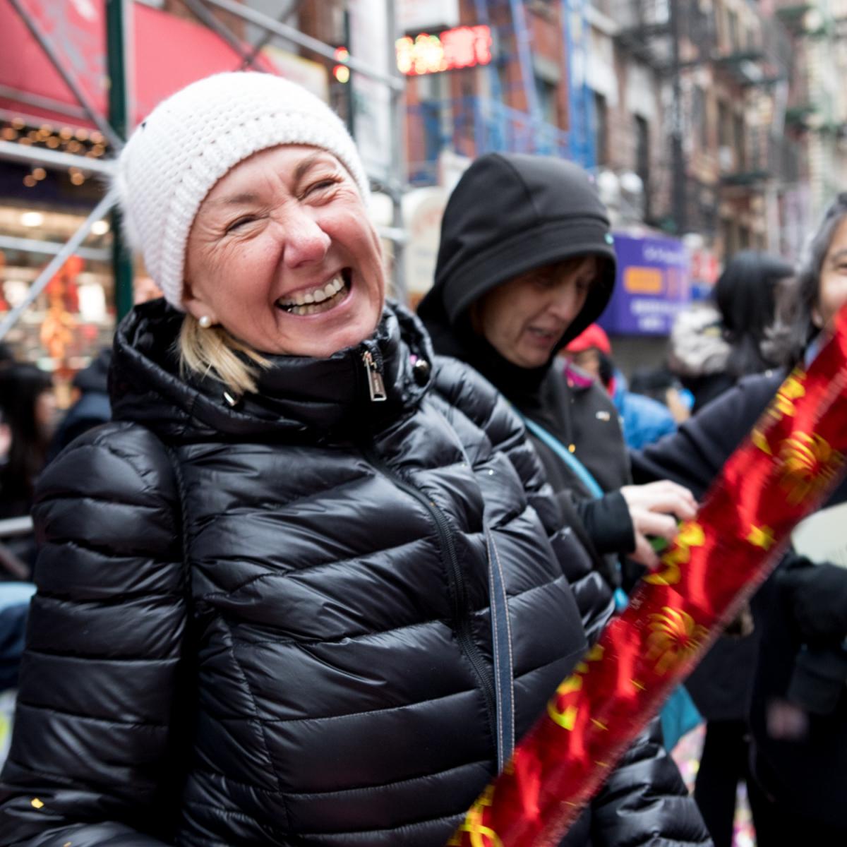 美國春節好熱鬧    ----紐約曼哈頓唐人街大年初一 20170128_图1-8