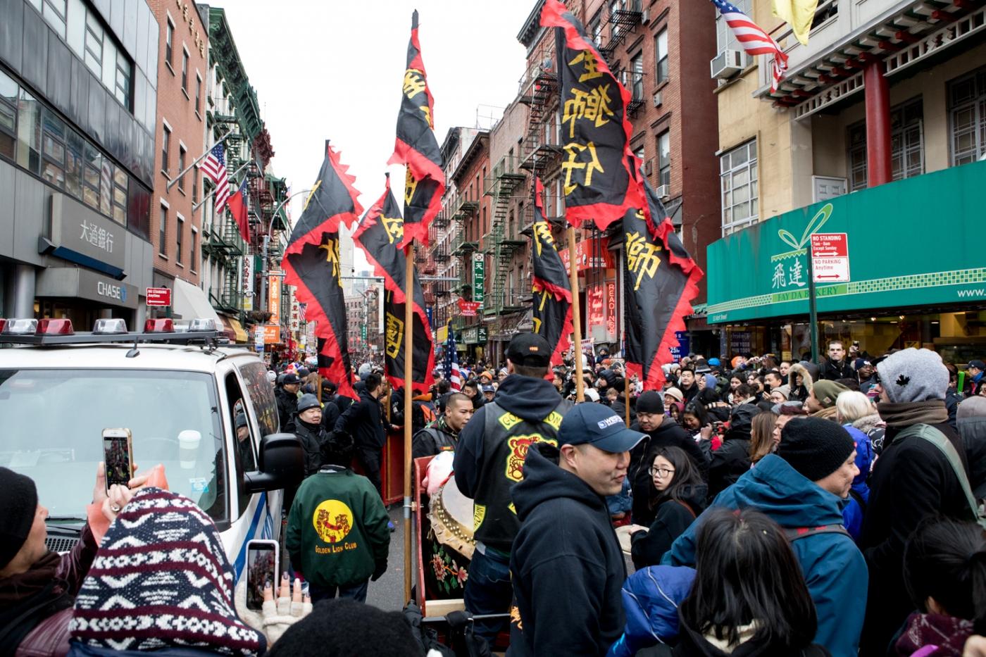 美國春節好熱鬧    ----紐約曼哈頓唐人街大年初一 20170128_图1-13