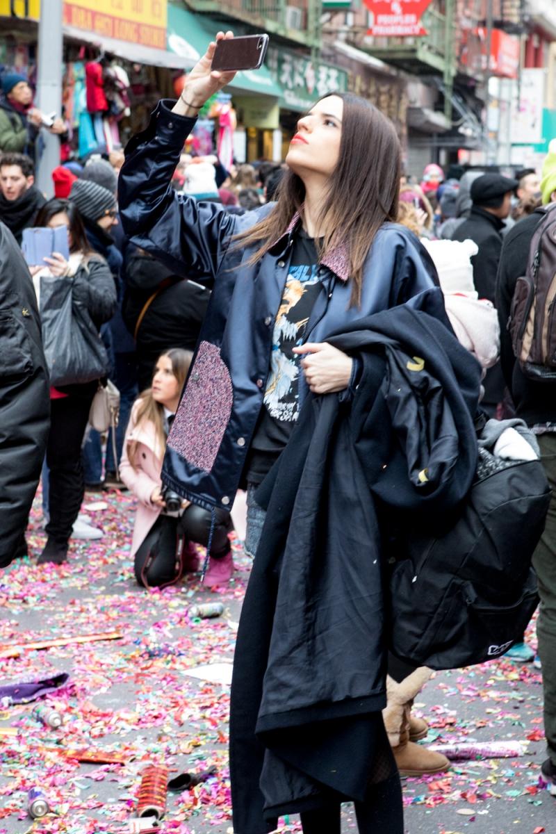 美國春節好熱鬧    ----紐約曼哈頓唐人街大年初一 20170128_图1-23