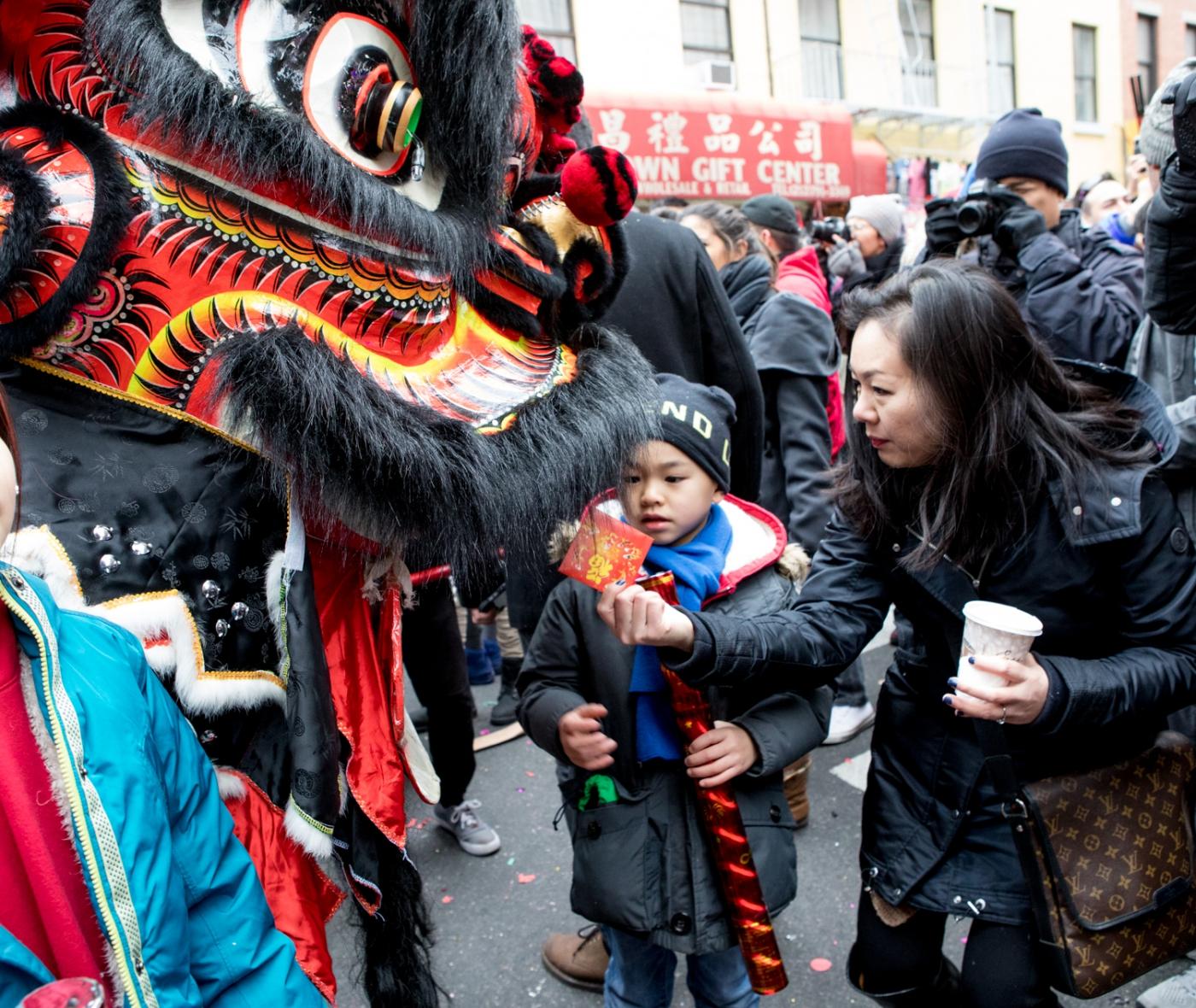 美國春節好熱鬧    ----紐約曼哈頓唐人街大年初一 20170128_图1-26
