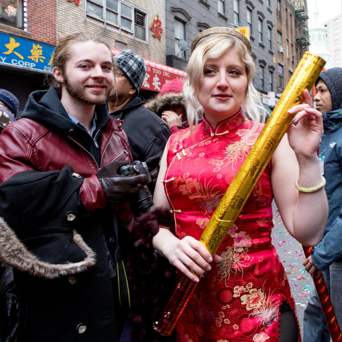 美國春節好熱鬧    ----紐約曼哈頓唐人街大年初一 20170128_图1-28