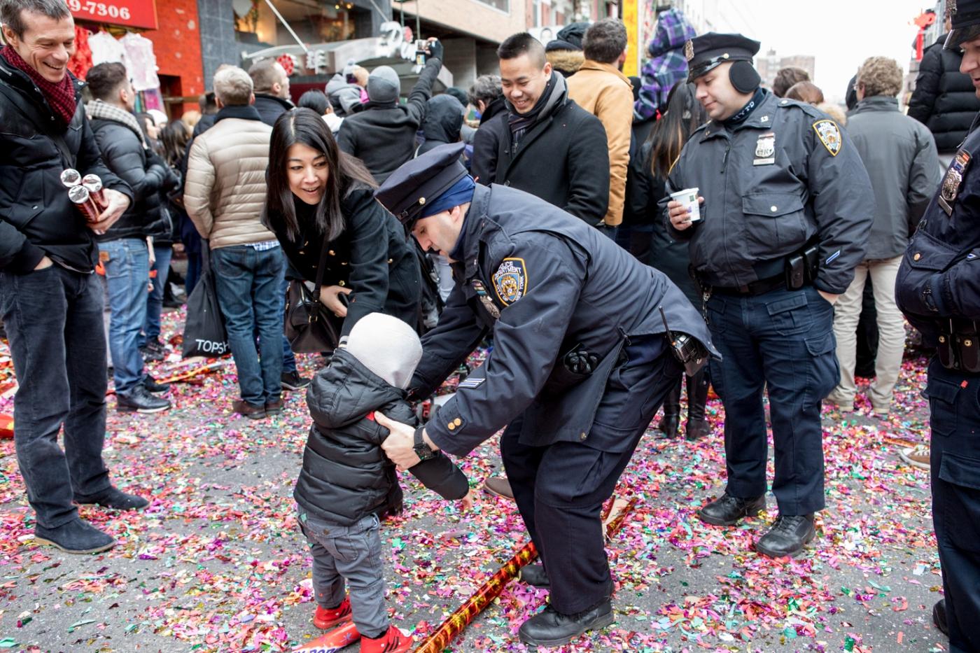 美國春節好熱鬧    ----紐約曼哈頓唐人街大年初一 20170128_图1-32