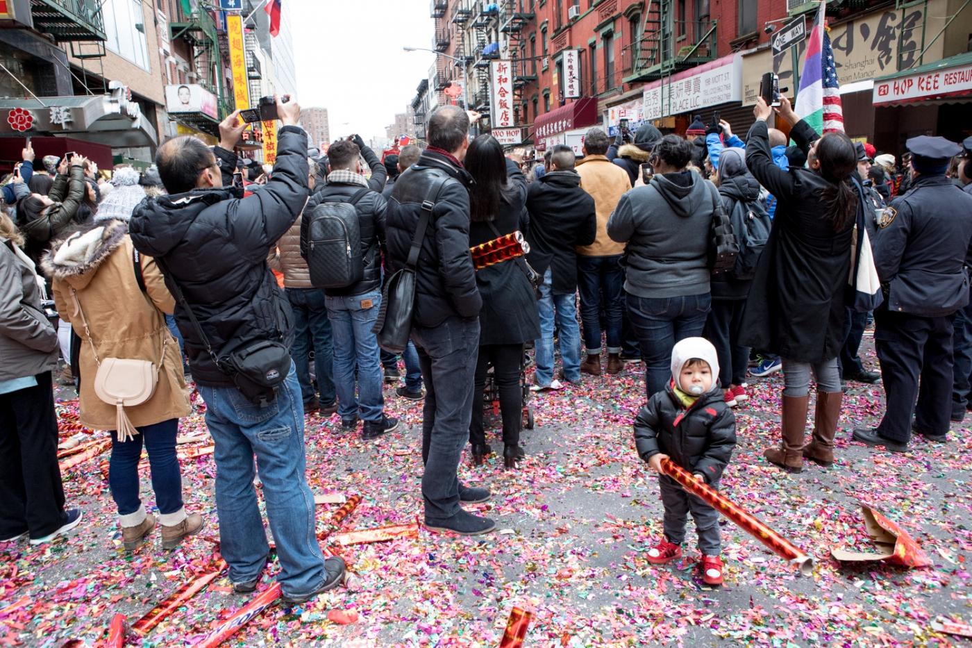 美國春節好熱鬧    ----紐約曼哈頓唐人街大年初一 20170128_图1-33