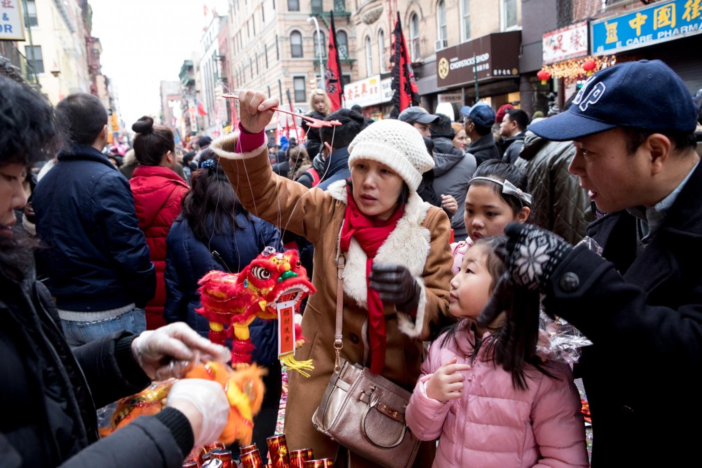 美國春節好熱鬧    ----紐約曼哈頓唐人街大年初一 20170128_图1-36