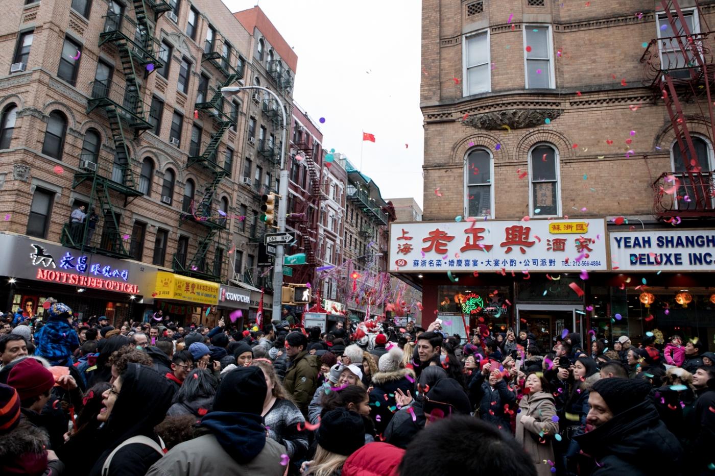 美國春節好熱鬧    ----紐約曼哈頓唐人街大年初一 20170128_图1-38