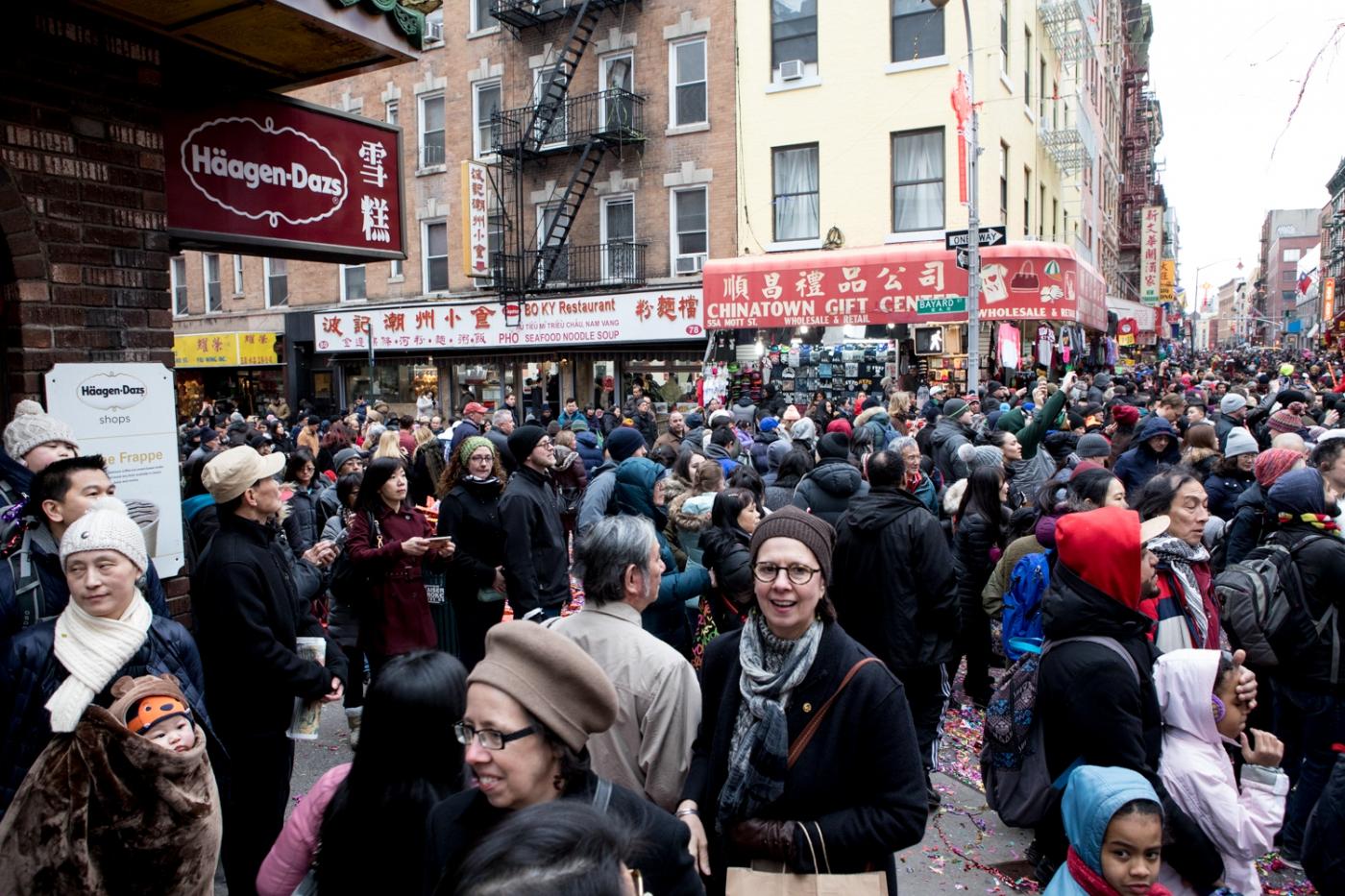 美國春節好熱鬧    ----紐約曼哈頓唐人街大年初一 20170128_图1-39