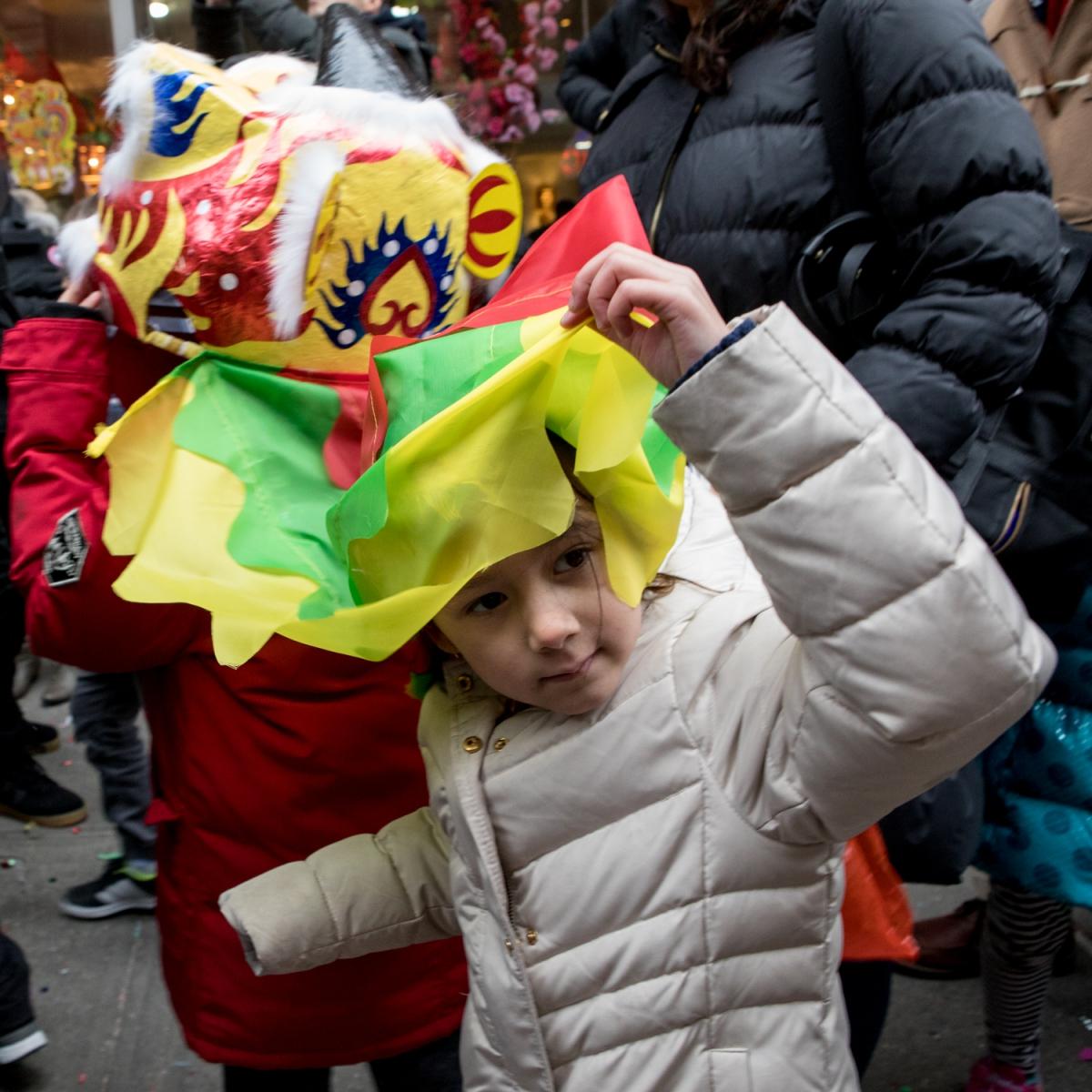 美國春節好熱鬧    ----紐約曼哈頓唐人街大年初一 20170128_图1-40