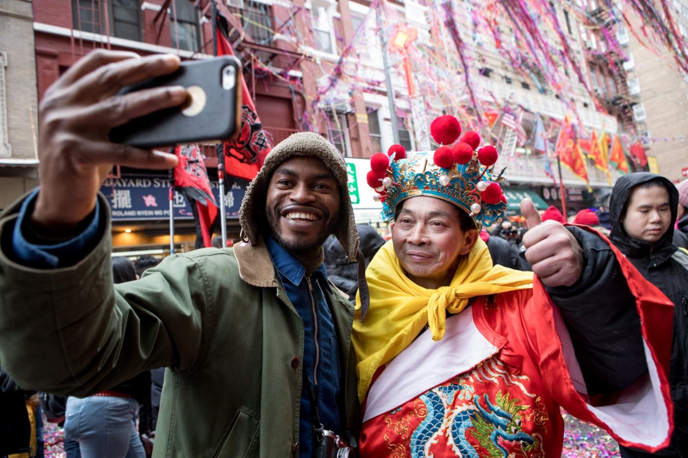 美國春節好熱鬧    ----紐約曼哈頓唐人街大年初一 20170128_图1-41