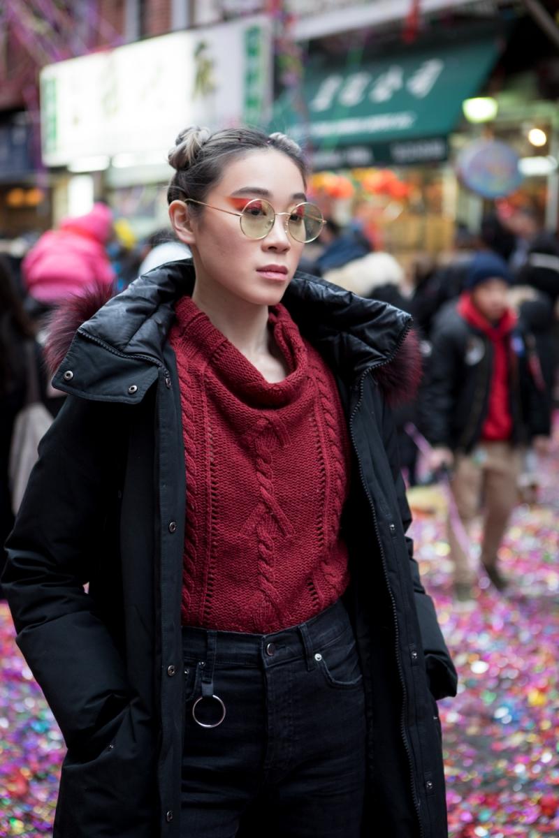 美國春節好熱鬧    ----紐約曼哈頓唐人街大年初一 20170128_图1-45