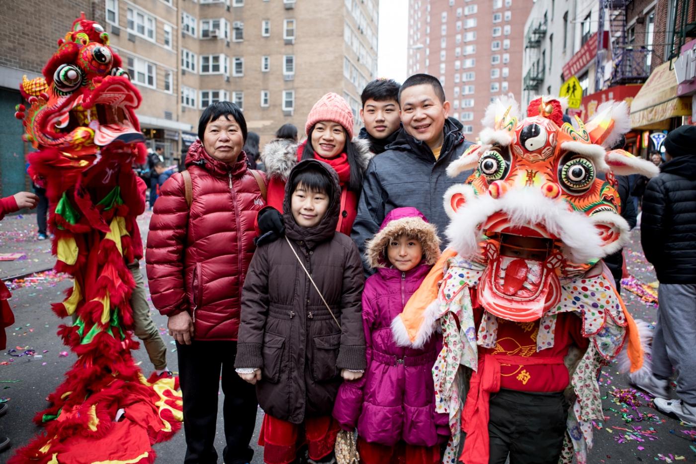 美國春節好熱鬧    ----紐約曼哈頓唐人街大年初一 20170128_图1-47