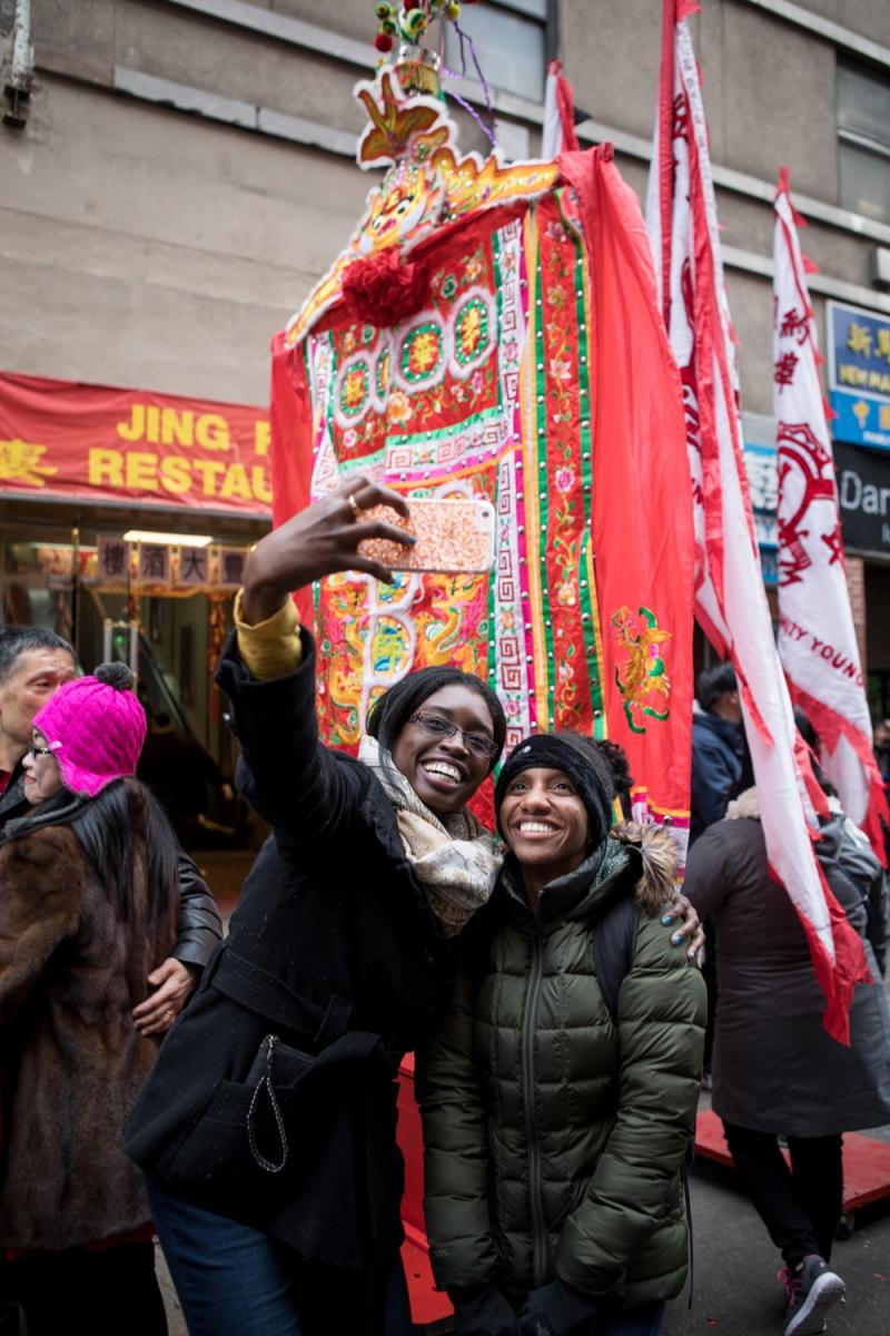 美國春節好熱鬧    ----紐約曼哈頓唐人街大年初一 20170128_图1-48