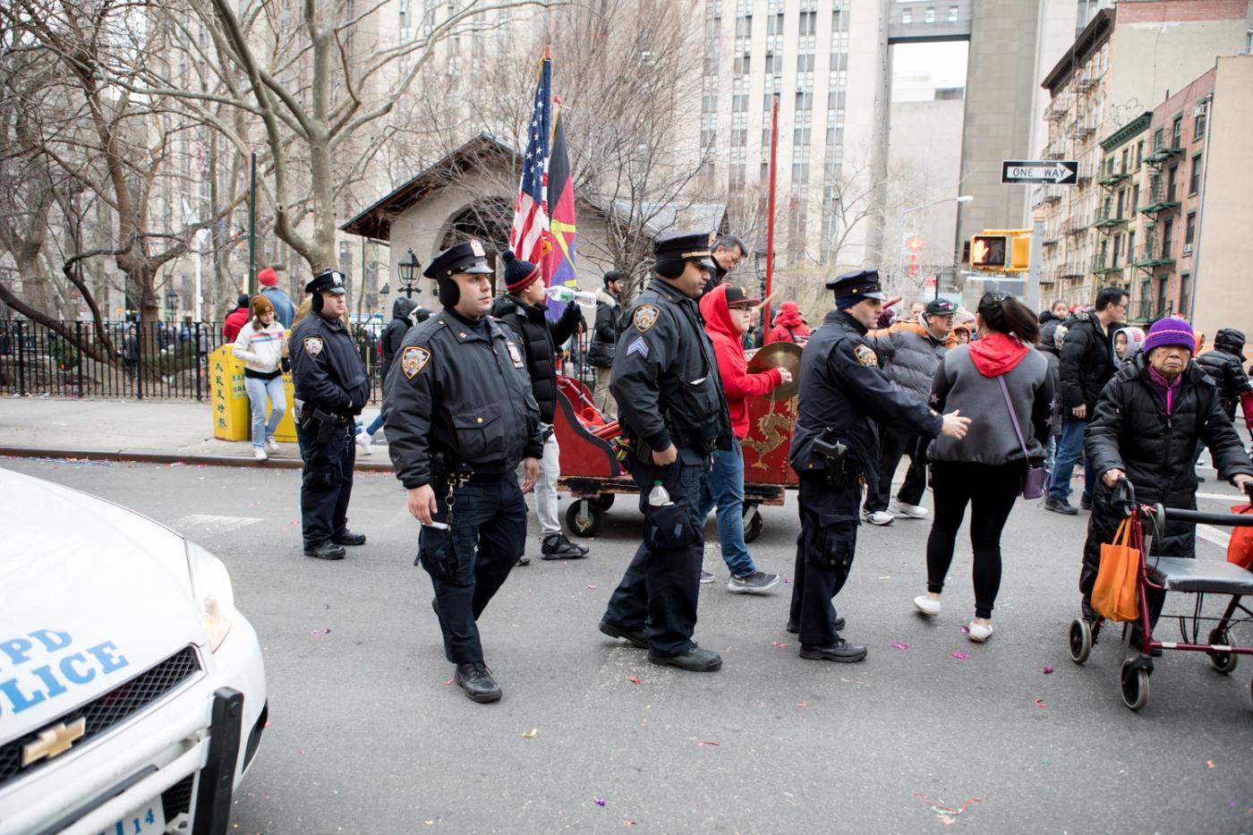 美國春節好熱鬧    ----紐約曼哈頓唐人街大年初一 20170128_图1-49