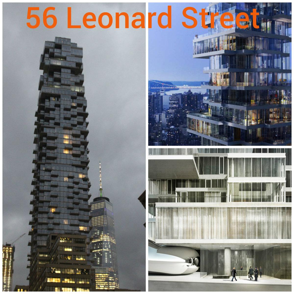 神秘买家投资5300多万美元买下曼哈顿翠贝卡街区全新奇特公寓层叠大厦的PH53和54!(草稿 ..._图1-1