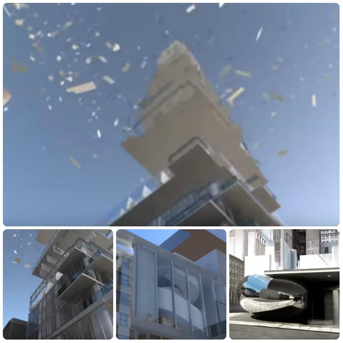 神秘买家投资5300多万美元买下曼哈顿翠贝卡街区全新奇特公寓层叠大厦的PH53和54!(草稿 ..._图1-10