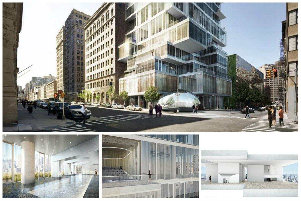 神秘买家投资5300多万美元买下曼哈顿翠贝卡街区全新奇特公寓层叠大厦的PH53和54!(草稿 ..._图1-11