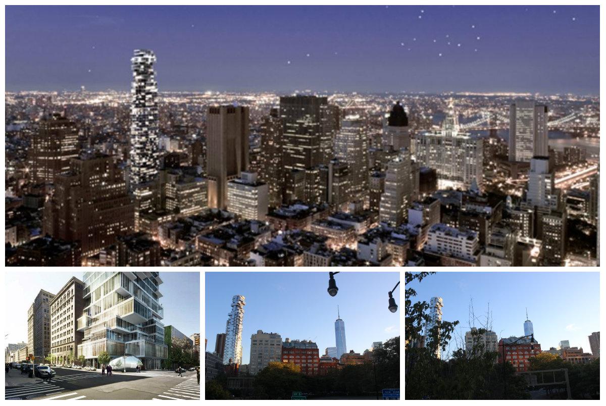 神秘买家投资5300多万美元买下曼哈顿翠贝卡街区全新奇特公寓层叠大厦的PH53和54!(草稿 ..._图1-12