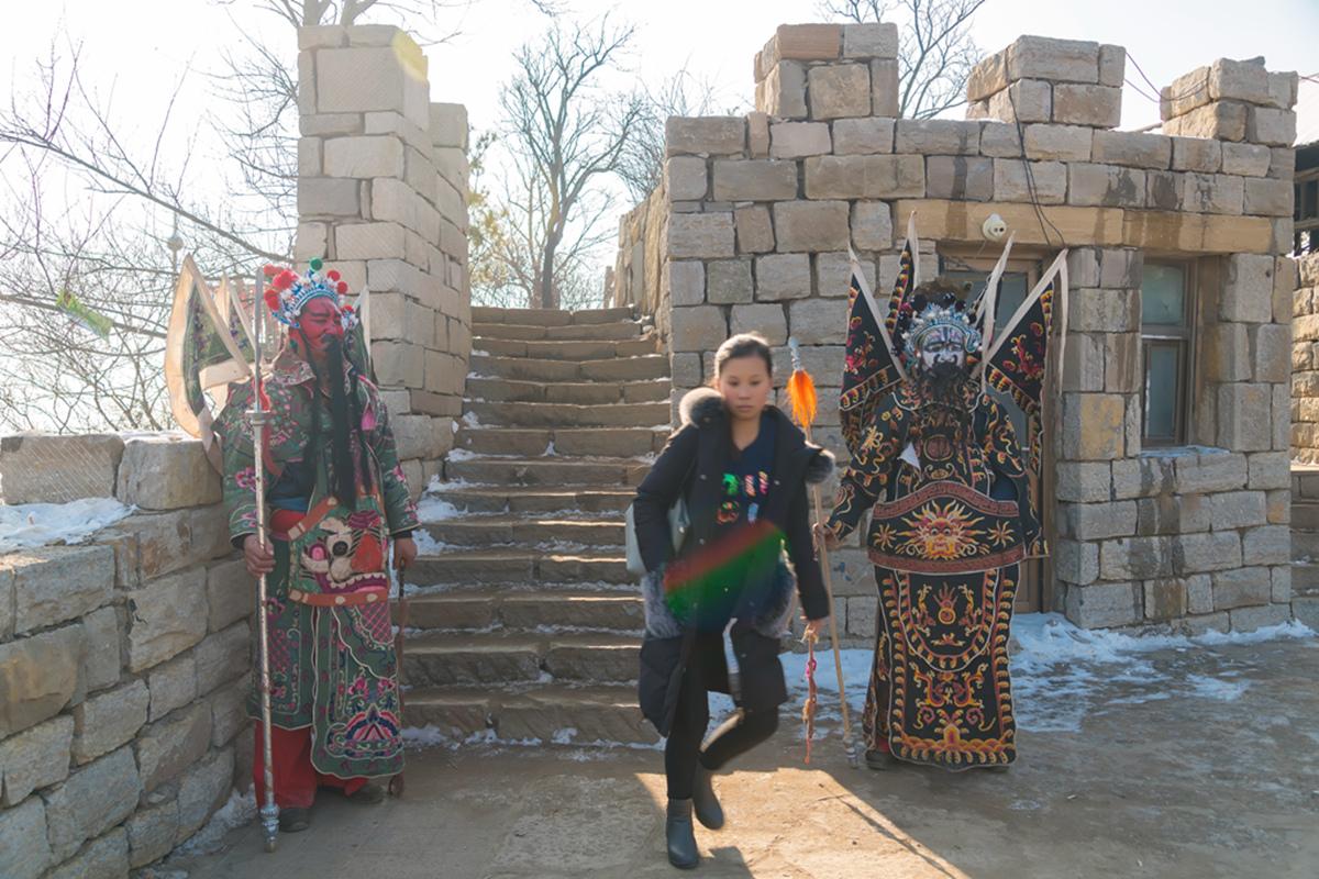 沂蒙山区仅存的活着的图腾正月初六在泉庄全景展示_图1-3