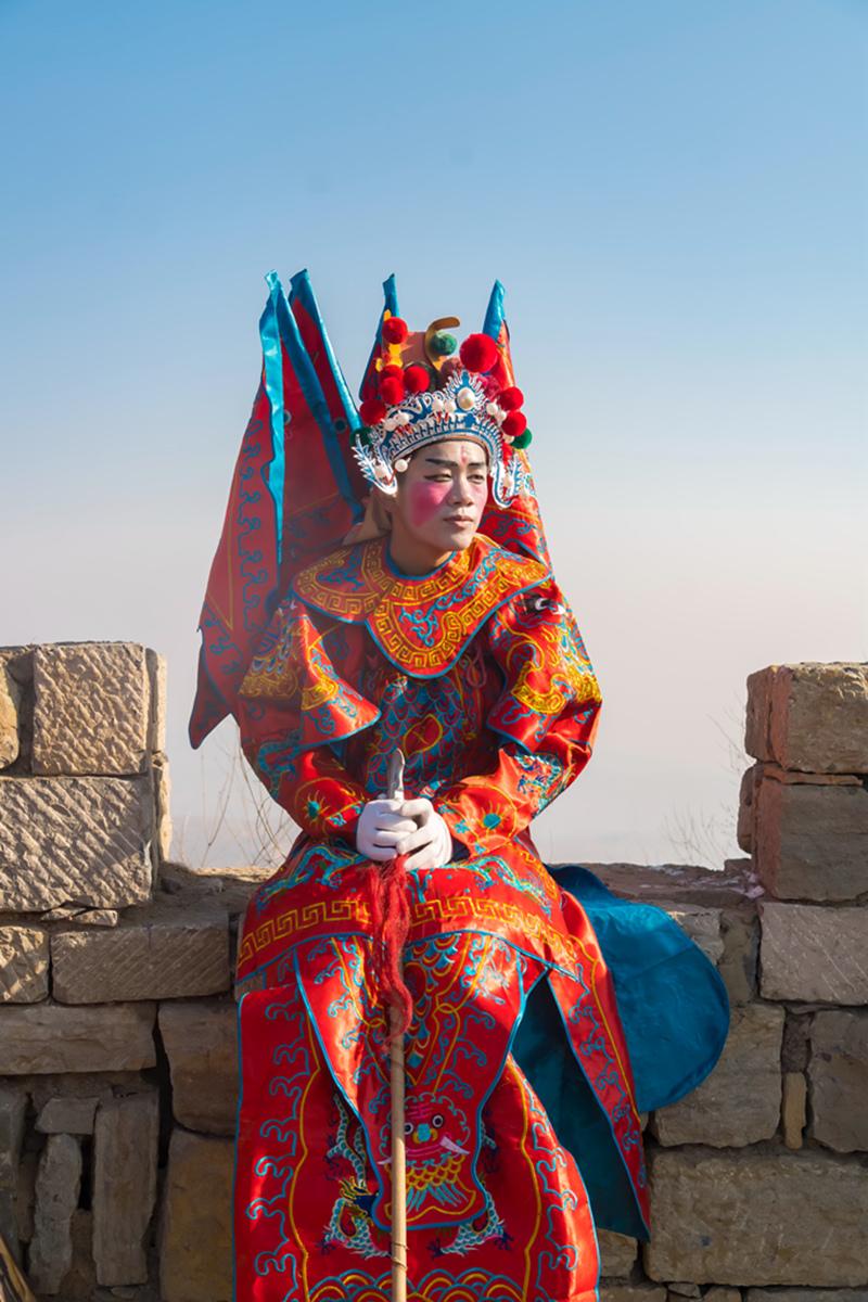 沂蒙山区仅存的活着的图腾正月初六在泉庄全景展示_图1-5