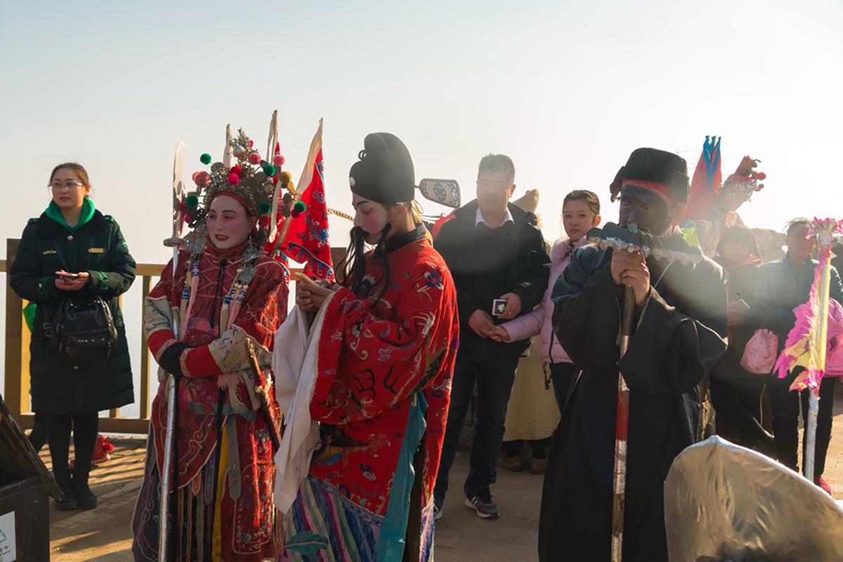 沂蒙山区仅存的活着的图腾正月初六在泉庄全景展示_图1-6