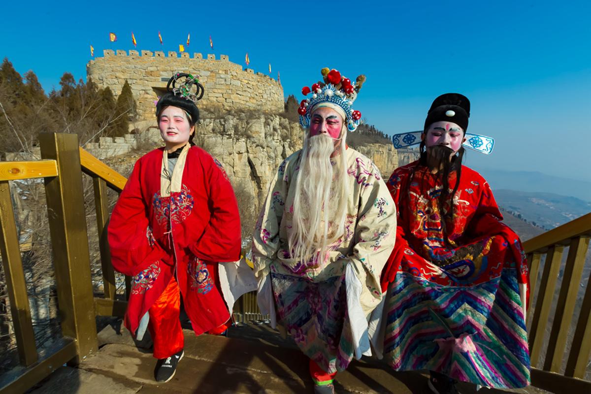 沂蒙山区仅存的活着的图腾正月初六在泉庄全景展示_图1-7