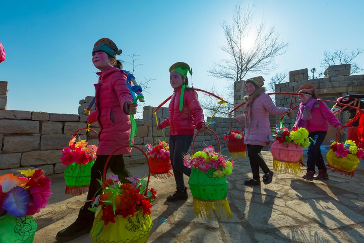 沂蒙山区仅存的活着的图腾正月初六在泉庄全景展示_图1-10