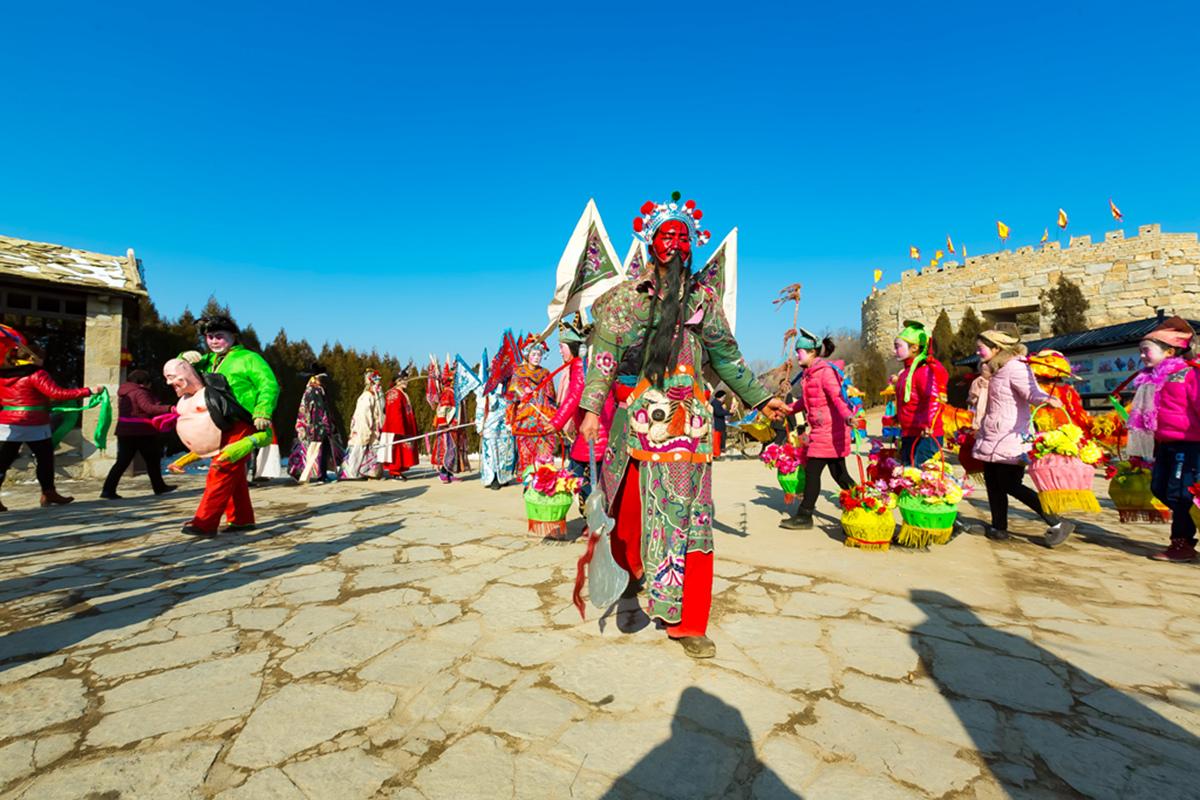 沂蒙山区仅存的活着的图腾正月初六在泉庄全景展示_图1-11
