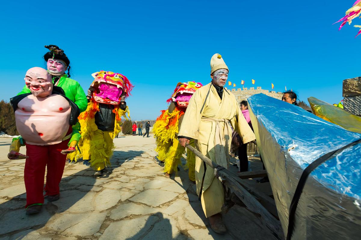沂蒙山区仅存的活着的图腾正月初六在泉庄全景展示_图1-12