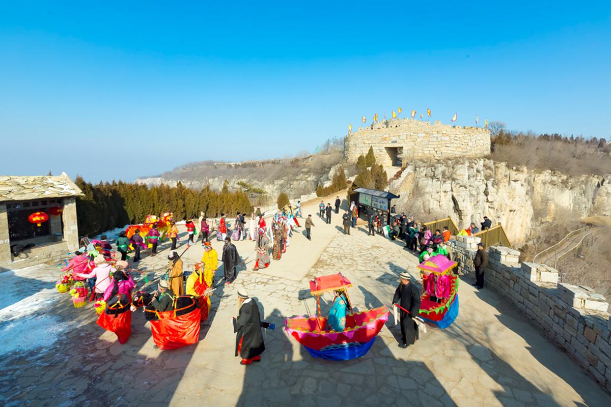 沂蒙山区仅存的活着的图腾正月初六在泉庄全景展示_图1-13