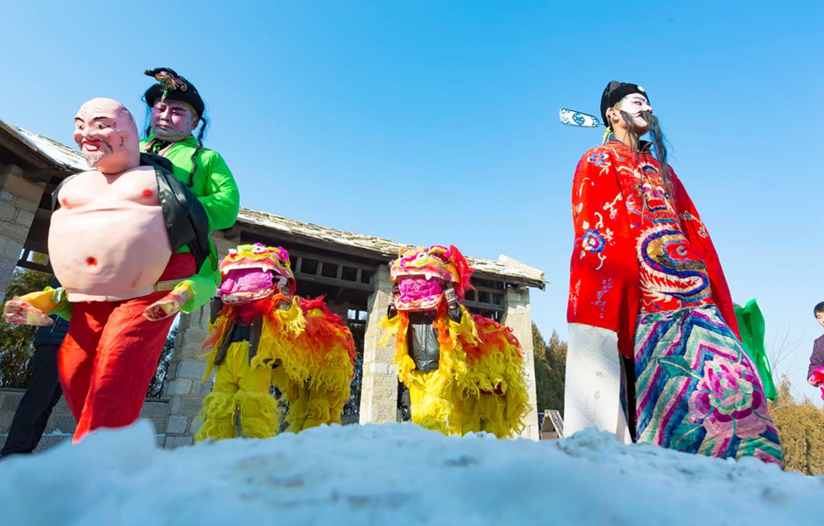 沂蒙山区仅存的活着的图腾正月初六在泉庄全景展示_图1-14