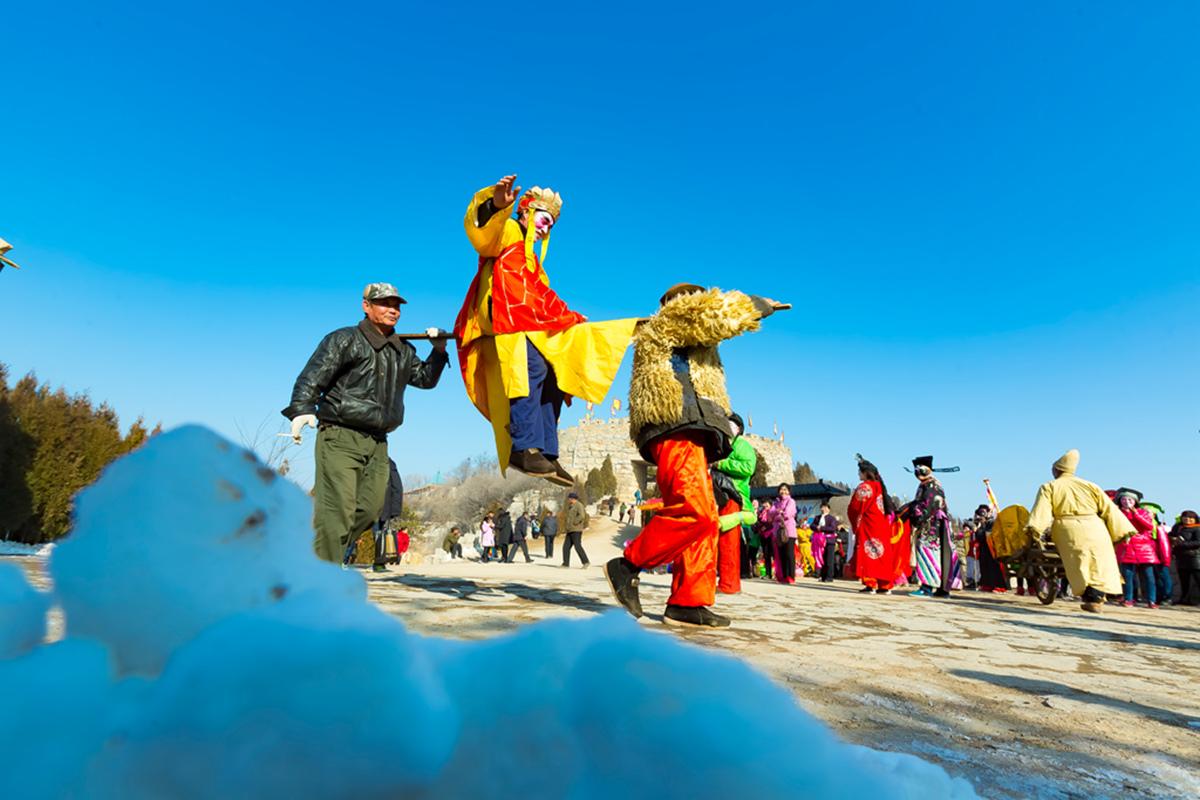 沂蒙山区仅存的活着的图腾正月初六在泉庄全景展示_图1-17