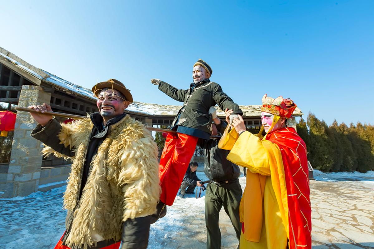 沂蒙山区仅存的活着的图腾正月初六在泉庄全景展示_图1-18