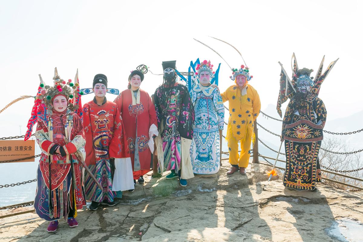 沂蒙山区仅存的活着的图腾正月初六在泉庄全景展示_图1-21