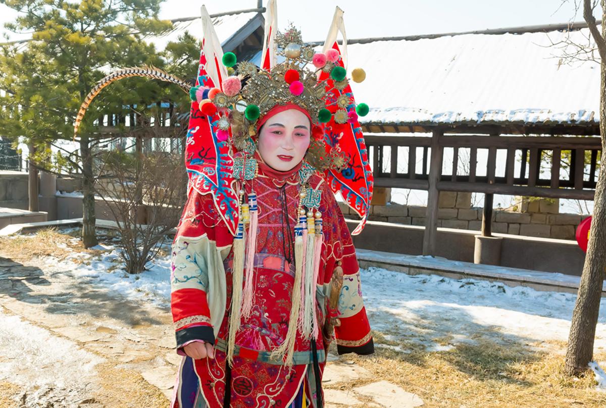 沂蒙山区仅存的活着的图腾正月初六在泉庄全景展示_图1-22