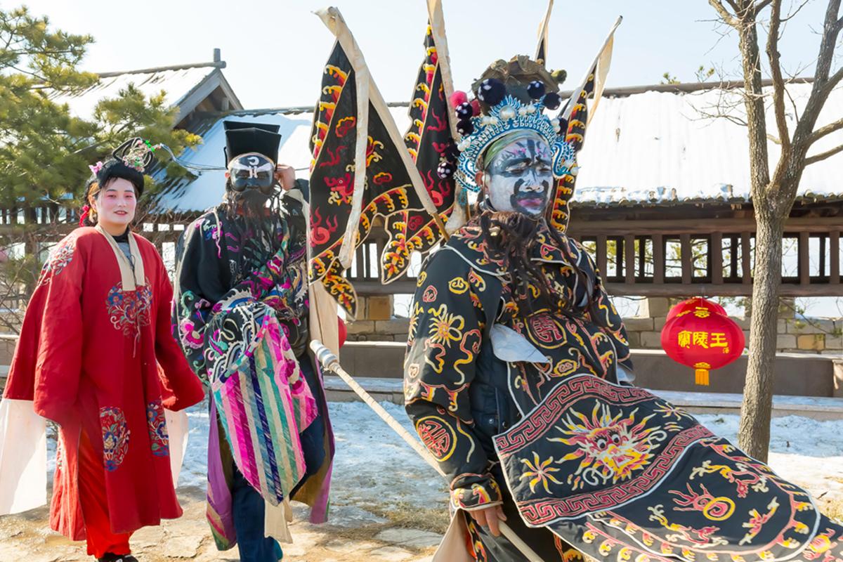 沂蒙山区仅存的活着的图腾正月初六在泉庄全景展示_图1-23