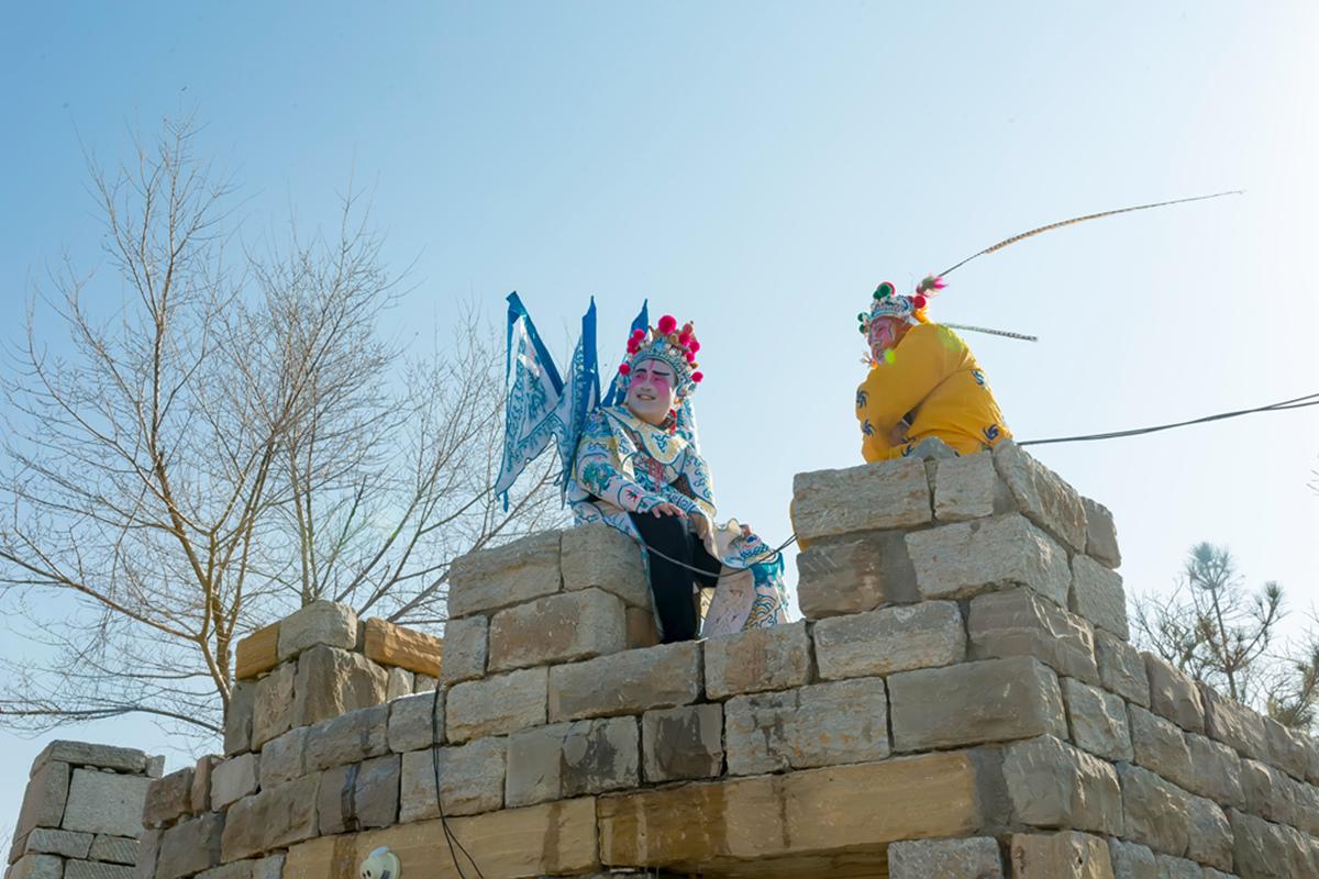 沂蒙山区仅存的活着的图腾正月初六在泉庄全景展示_图1-24