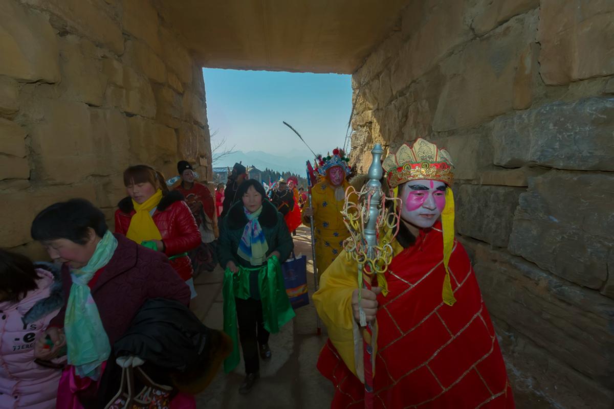 沂蒙山区仅存的活着的图腾正月初六在泉庄全景展示_图1-25