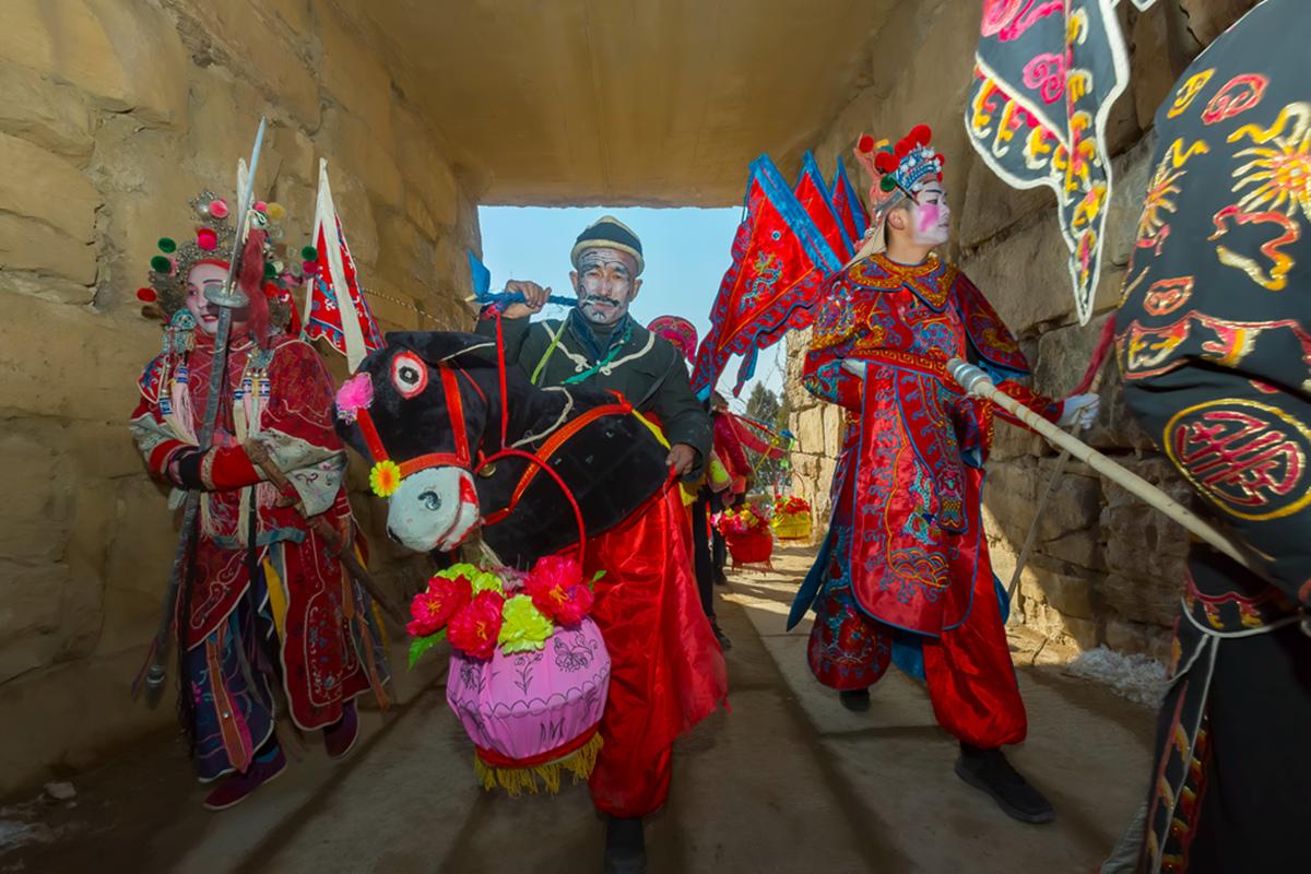 沂蒙山区仅存的活着的图腾正月初六在泉庄全景展示_图1-26
