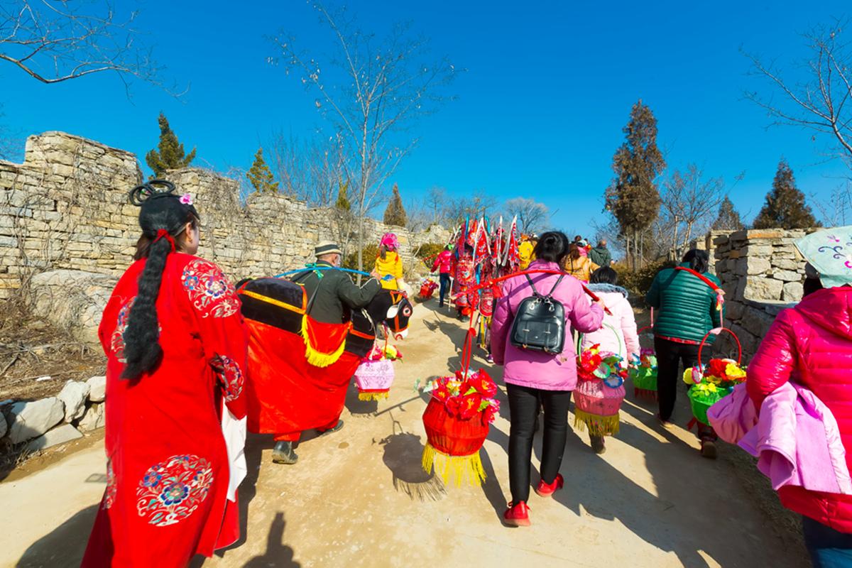 沂蒙山区仅存的活着的图腾正月初六在泉庄全景展示_图1-27