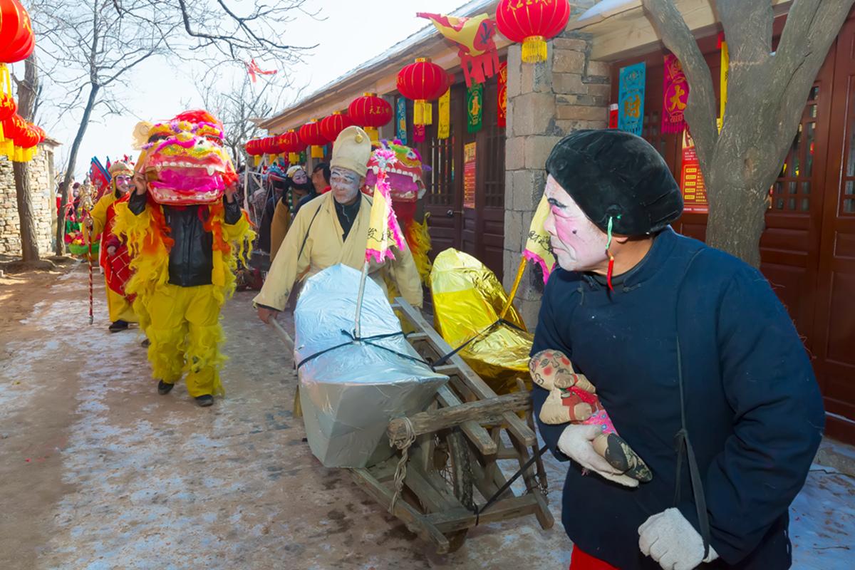 沂蒙山区仅存的活着的图腾正月初六在泉庄全景展示_图1-29
