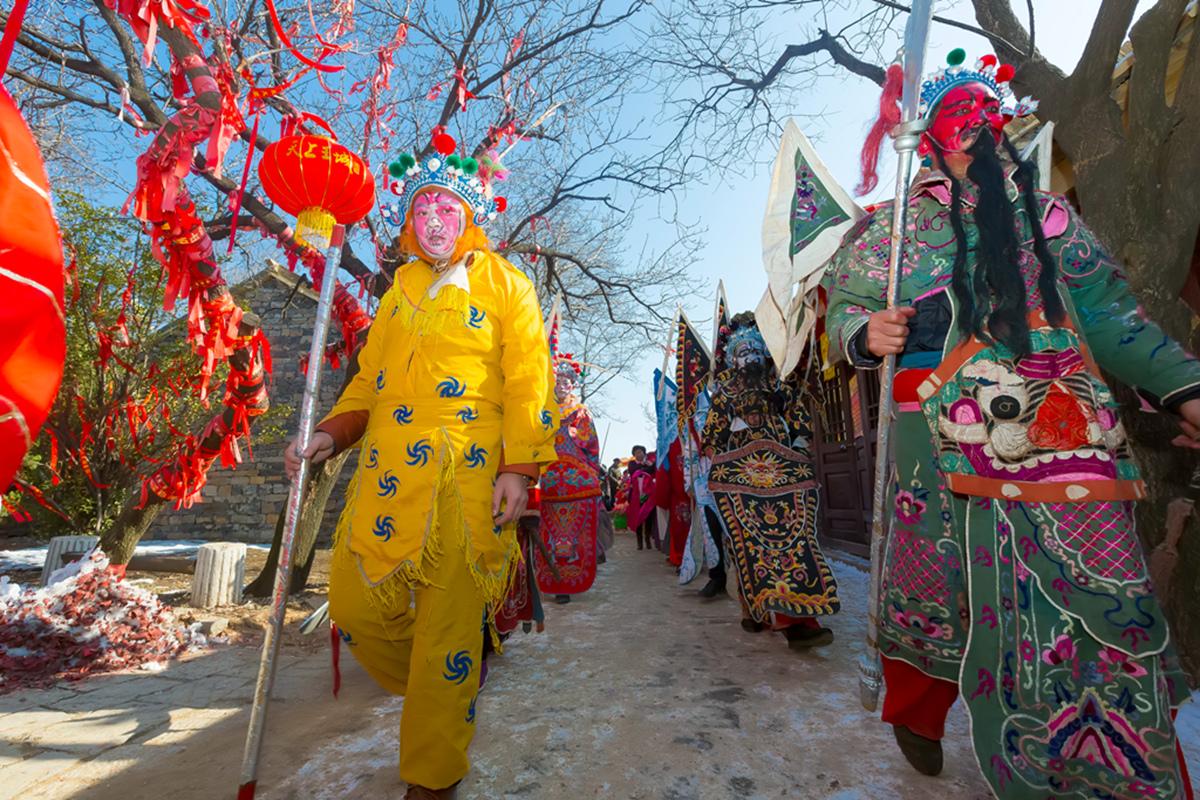 沂蒙山区仅存的活着的图腾正月初六在泉庄全景展示_图1-30